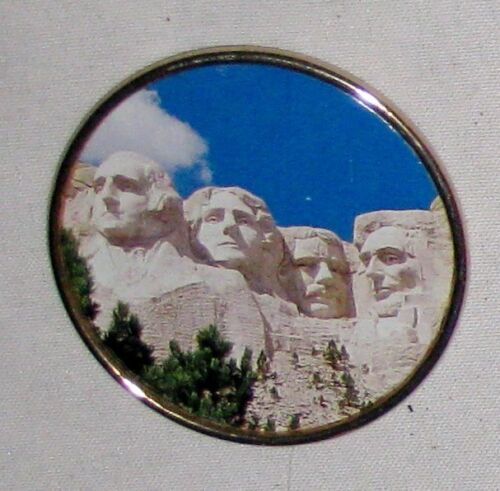 "Round 2"" Mount Rushmore Magnet Sign"