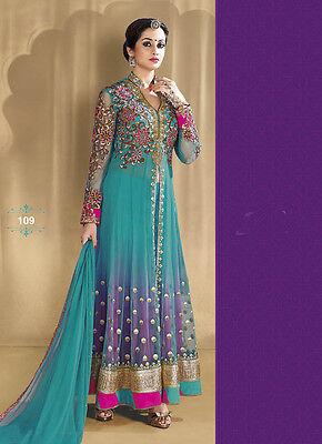 Anarkali Salwar Suit Indian Pakistani Designer Bollywood Wear Ethnic Party Dress