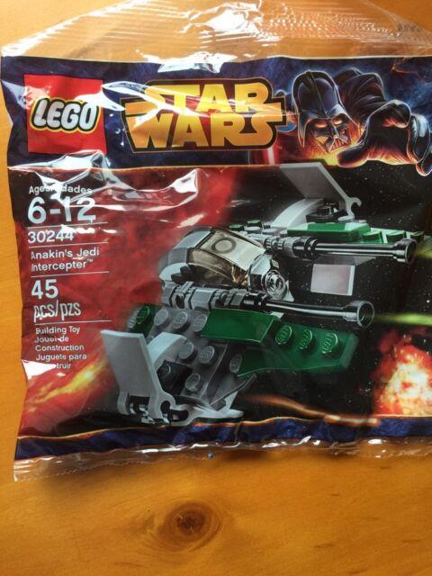 Lego Star Wars Anakin/'s Jedi Interceptor Polybag 30244 New and Sealed