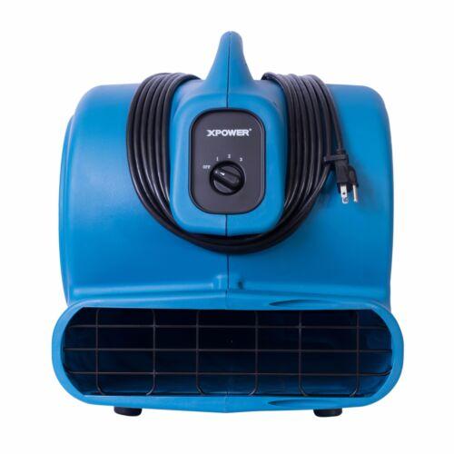 XPOWER P-830 1 HP 3600 CFM Air Mover industriale Tappeto Asciugatrice ventola di restauro