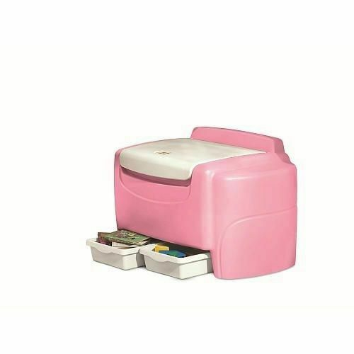 Carnival Toy Box Pink: Little Tikes Pink Sort 'N Store Toy Chest For Sale Online