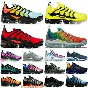 Athletic-Mens-TN-Vapor-Sneakers-Air-Cushion-Metallic-Olive-Trainers-Running-Shoe