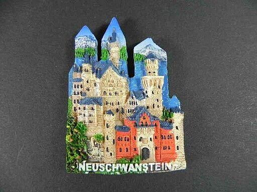Magnet Neuschwanstein Schloss ,Polyresin,Souvenir Germany Deutschland,NEU.