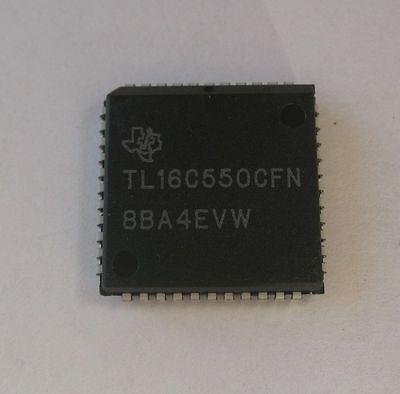 NEW TEXAS TL16C550CFN 44PIN SINGLE UART W//16-BYTE FIFO /& AUTOFLOW CONTROL