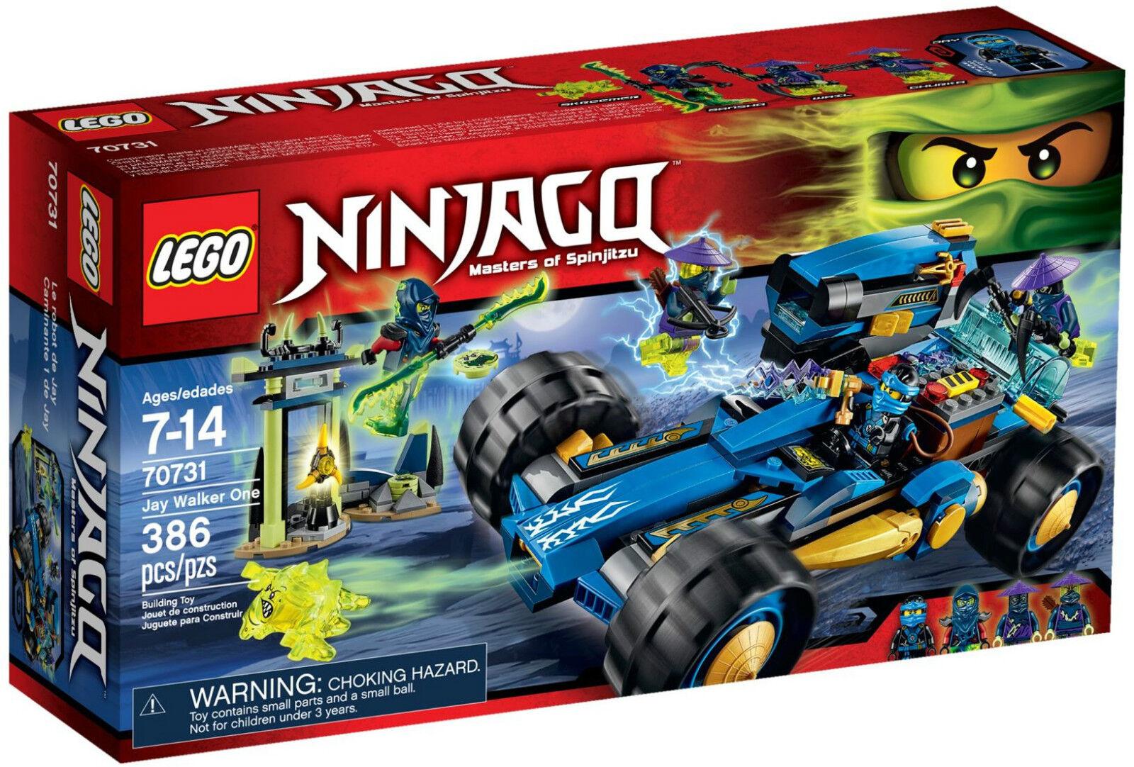 Lego Ninjago 70731  Ninjago Jay Walker - Brand New