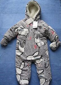 96aa6d4ff NEXT Baby Girls Snowsuit
