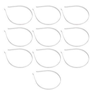10Pcs-Blank-Headbands-Metal-Hair-Band-Lots-DIY-Accessories-T1