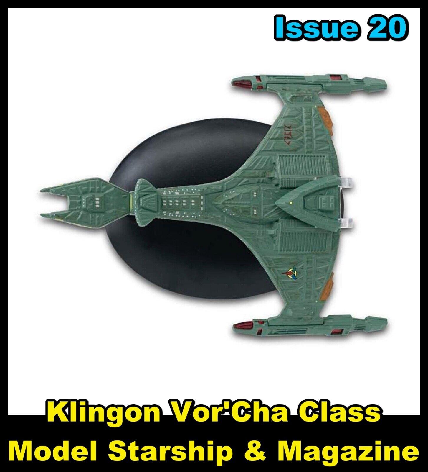Issue 20: Vor'Cha Klingon Model Ship