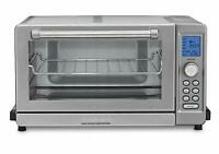 Deals on Cuisinart TOB-135FR Deluxe Convection Toaster Oven Refurb