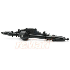 Xtra-Speed-Axial-SMT10-RR10-AR60-Aluminum-CNC-amp-Alloy-Rear-Axle-XS-AW-2XS