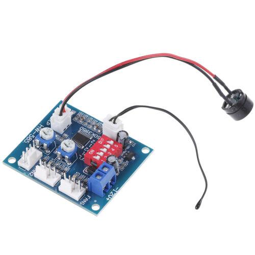 Dc 12v pwm pc cpu lüfter temperaturregelung drehzahlregler modul ia