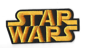 STAR-WARS-LOGO-Iron-on-Sew-on-Patch-Embroidered-Badge-Motif-Movie-PT105