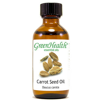 2 fl oz Carrot Seed Essential Oil (100% Pure & Natural) - GreenHealth