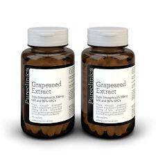 2x estratto di semi d'uva - 300mg x 360 Compresse - 90% ProantoCianidine Oligomeriche