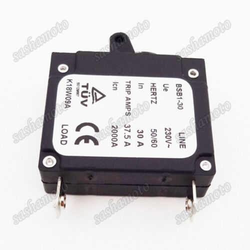 BSB1-30 In 230V 30A Generator Circuit Breaker 37.5A Trip Amps 2000A 50//60 Hertz