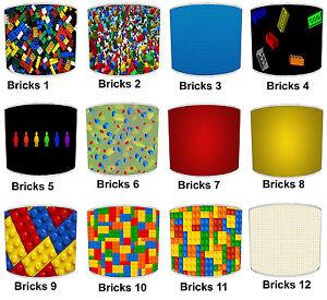 Lampshades Ideal To Match Kids Building Blocks Wallpaper Building Blocks Duvets
