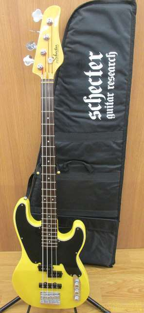 SCHECTER DIAMOND SERIES AD-MODEL-T Electric Bass Guitar with Gig Case