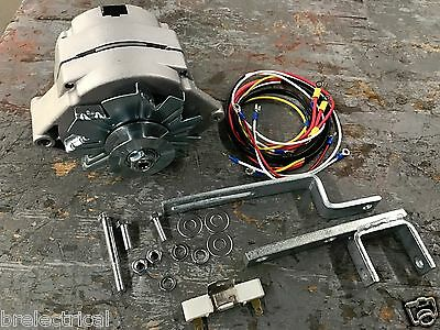 6 to 12 volt wiring on farmall tractors ford naa jubilee tractor 12 volt alternator alt conversion kit  ford naa jubilee tractor 12 volt