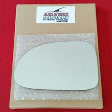 NEW Mirror Glass + ADHESIVE 98-03 DODGE DAKOTA DURANGO Driver Left Side LH