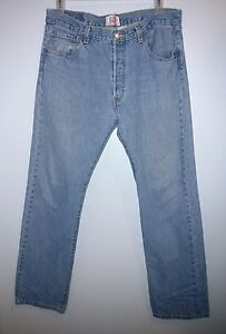 e20bffd8 Levis 501 XX Jeans Men' Size 36 x 34 Levi Red Tag Button Fly VINTAGE ...