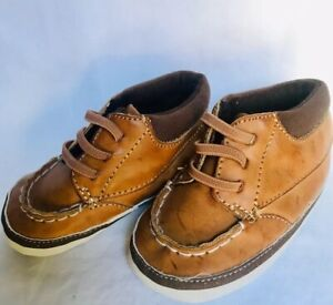 Infant Boys TARGET Tan Faux Leather