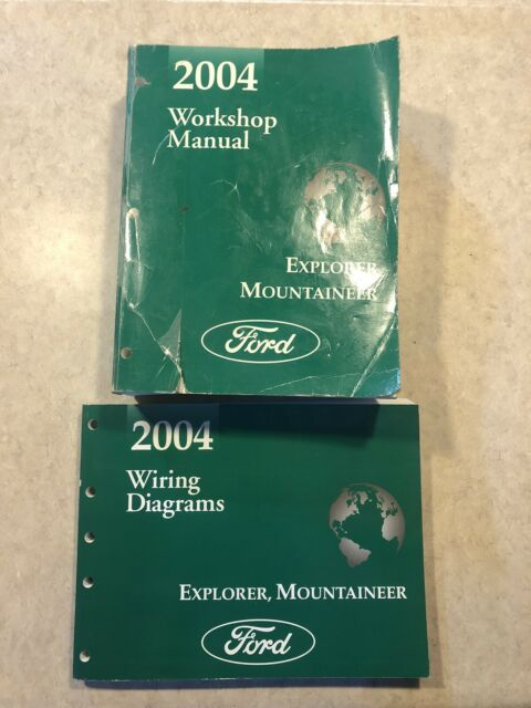 2004 Ford Explorer Mountaineer Workshop Repair Manual