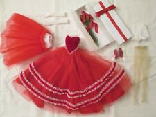 """Wine /& Roses Tiny Kitty outfit Tonner MIP fit 10/"""" Simone Rouge doll 2014"""