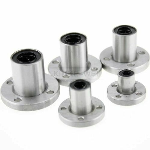 NEW LMF6//8//10//12//13//Round Flange Router Shaft Linear Bushing Bearings