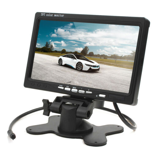 Rückfahrsystem rückfahrvideosystem con monitor para camara de vision trasera caravana