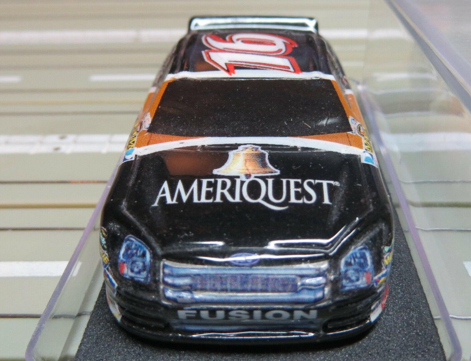 H0 car slot racing model train nascar with life like engine