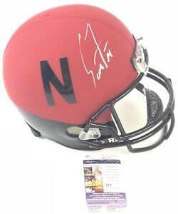 Football Lavonte David Autographed Signed Nebraska Cornhuskers Logo Football Jsa Coa
