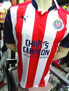 3c20ebe673e La foto se está cargando Puma-Chivas-Campeon-Jersey-Chivas-Campeon-Jersey- 2017-