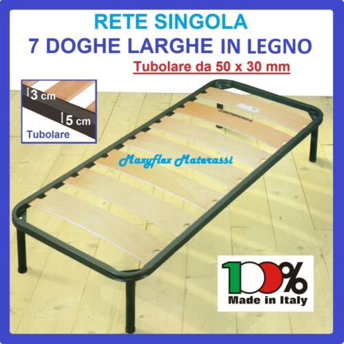 Orthopedic Network Single slatted Wide 1 A Square Bed 80x190