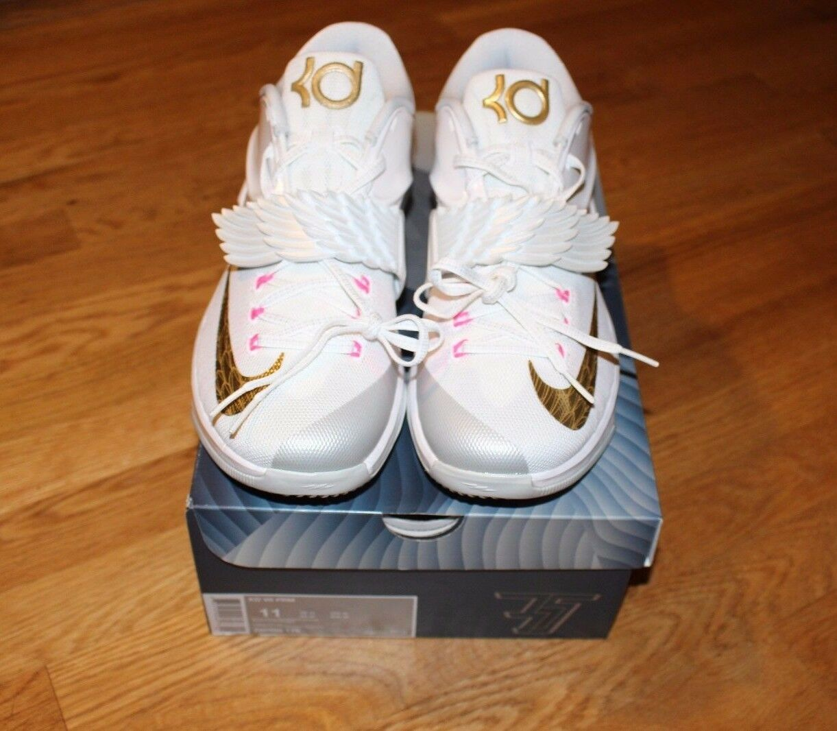 Nike KD7 Aunt Pearl PRM Size 11 Never Worn With Original Box
