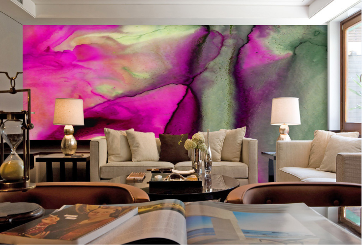 3D lila Graffiti 866 Wall Paper Murals Wall Print Wall Wallpaper Mural AU Kyra