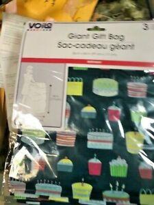 Image Is Loading GIANT BIRTHDAY Gift Sack 1 Ct Large Plastic
