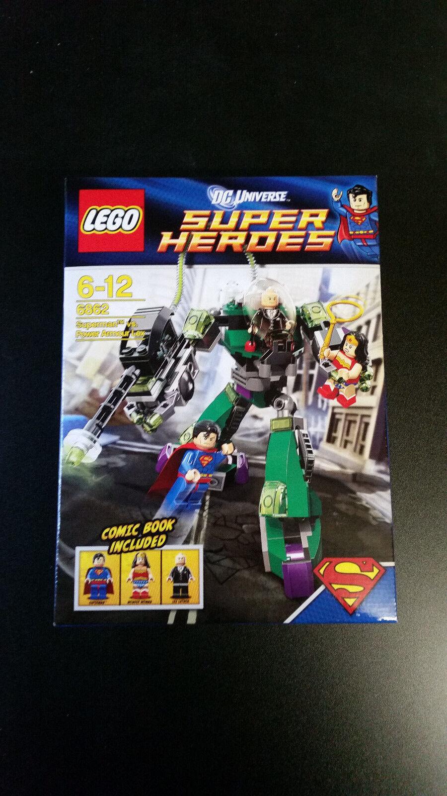 LEGO Super Heroes Superman Vs Power Armor Lex (6862)