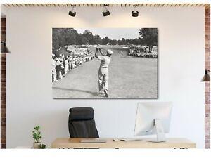 Ben-Hogan-Famous-Golf-Shot-Icon-Canvas-Wall-Art-Print-Various-Sizes