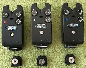 DELKIM STANDARD PLUS BITE ALARMS X 3--RED-WHITE-BLUE.