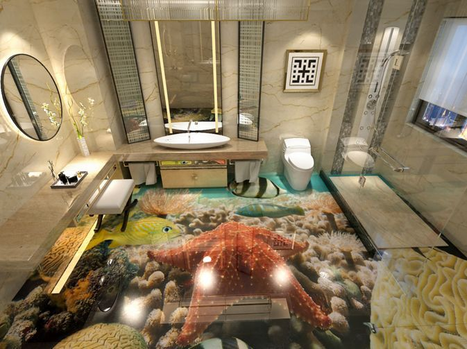 3D Marine Organisms Sea2 Floor WallPaper Murals Wall Print Decal 5D AJ WALLPAPER