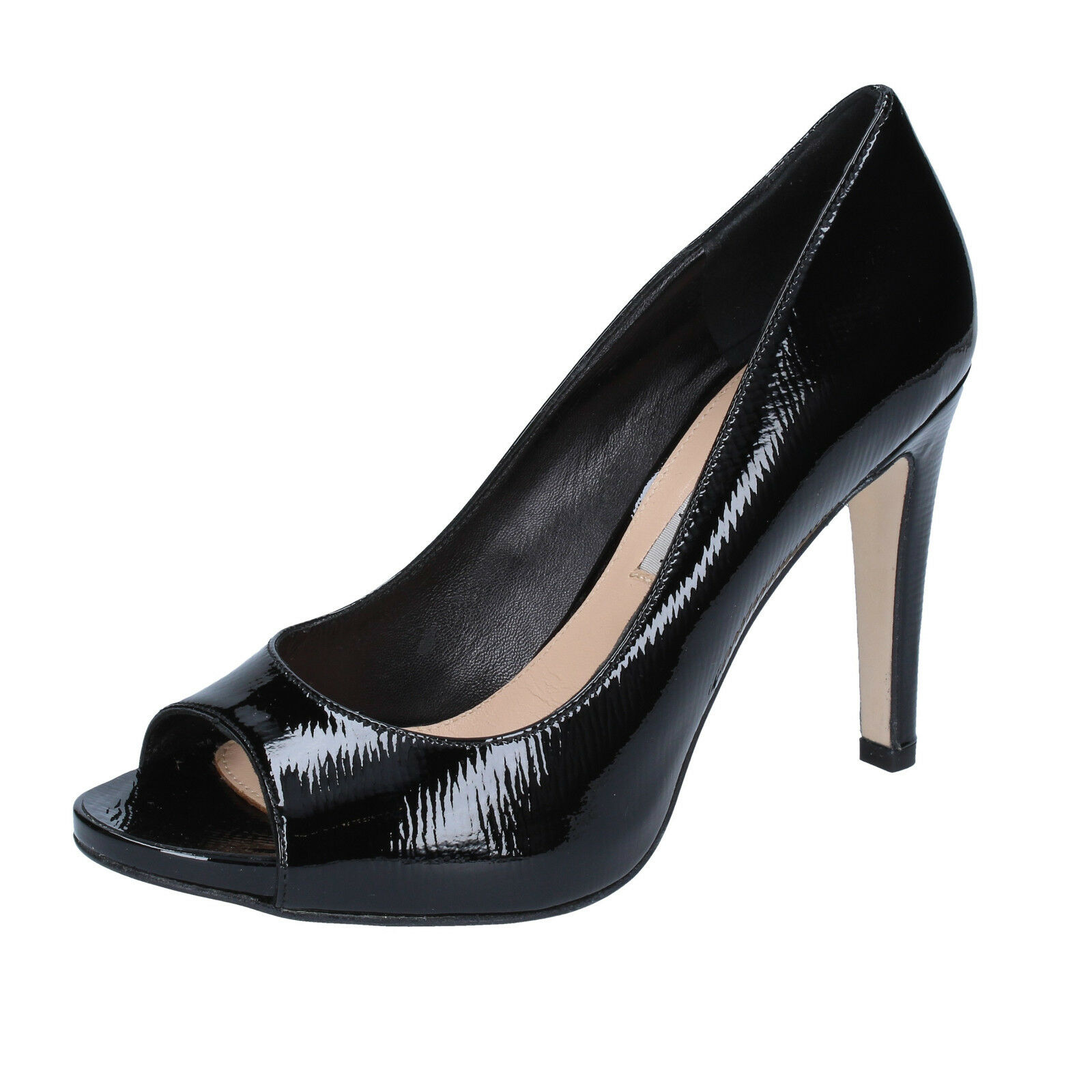 Scarpe donna THE vernice SELLER 37,5 decolte nero vernice THE BZ320-F 90fc1b