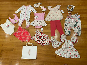 JESSICA SIMPSON BABY GIRL Lot Of 14 Pieces 3-6 M Wholesale
