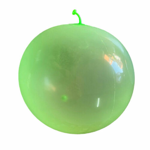110CM Bubble Ball Firm rubber Ball Stretch Transparent Soft Super Toy UK