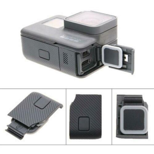 Side Door Cover USB-C Mini Port HDMI Side Protector for GoPro HERO5//6//7 Black