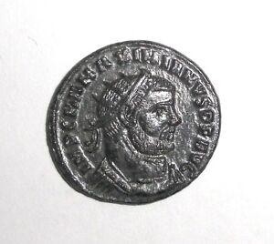 Ancient-Roman-Empire-Maximianus-295-296-AD-Jupiter-presents-Victory