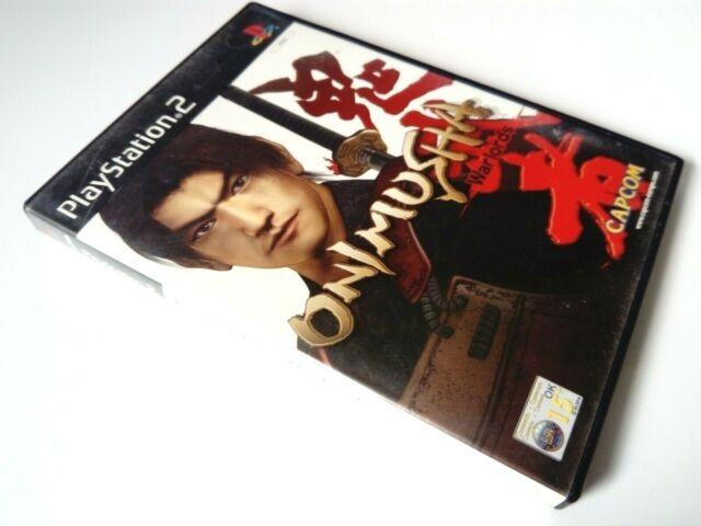 Onimusha Warlords - PS2 PlayStation 2 PAL Game COMPLETE Capcom