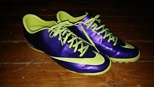 nowa wysoka jakość w sprzedaży hurtowej urok kosztów Details about Nike Mercurial Victory IV TF turf indoor Soccer Cleats new  555615-570 SIZE 10/44