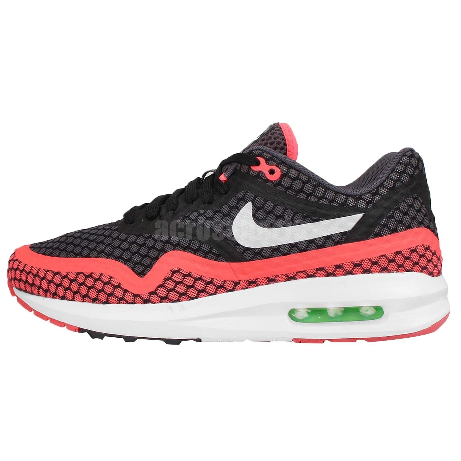 pretty nice 620f6 f50bf ... hot 70off nike air max lunar1 br breeze 1 black hot lava mens running  shoes ec86d