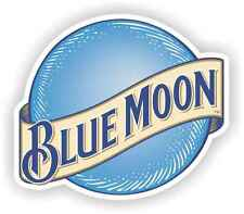 "4 pack of 2"" Blue Moon Stickers Decal Toolbox Hard Hat Cell Phone Bar Tap Beer"