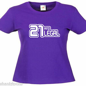 Birthday Girl Ladies Lady Fit T Shirt 13 Colours  Size 6-16